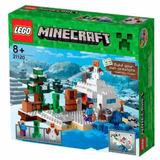 21120 Lego Minecraft O Esconderijo Da Neve Produto Original