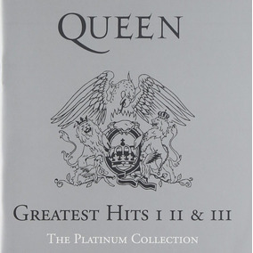 Queen The Platinum Collection Greatest Hits I Ii & Iii 3cd