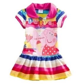 Vestido De Peppa Pig Importado Para Niñas