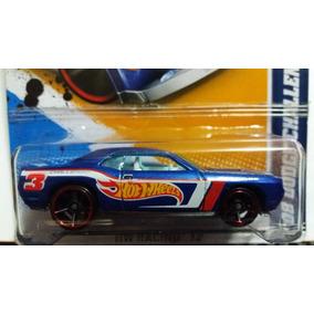 Hot Wheels Racing Dodge Challenger Srt-8 Mopar Azul Met Vlms