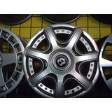 Roda 17 Bentley 4x100x108 Prata E Grafite Fiesta Ecosport Ká
