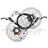 Kit Frenos Disco Hidraulicos Shimano Bl-m396 + Sm-rt30 160mm