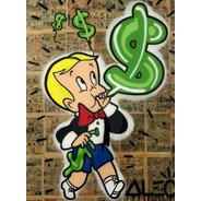 Poster Grafite 60cmx80cm Arte Urbana Alec Monopoly $$