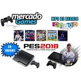 Ps3 + 20 Juegos Originales +2 Joystick + Entrega Inmediata