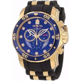 Lindo Relógio Invicta Scuba Diver 6983 Gold Novo Lindo Top