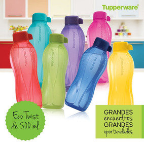 Botella Tupperware Eco Twist 500ml Tapa A Rosca