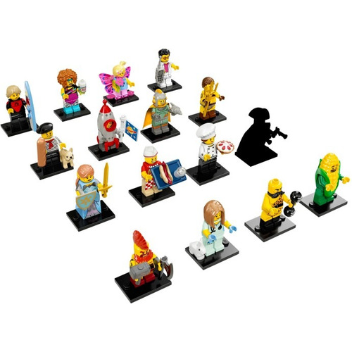 Lego Minifigures Series 17 Cole??o Completa 71018 Bricktoys