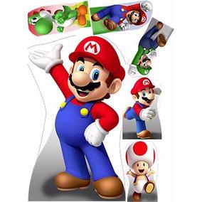 Kit Cenários Displays Infantis Super Mario
