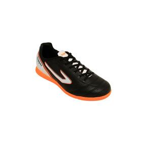 Chuteira Drible Futsal - Topper - Preto/branco