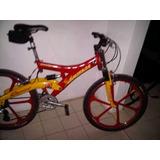 Bicicleta Montañera Kamikaze 26 Con Accesorios Shimano