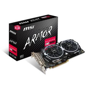 Tarjeta Video Radeon Rx580 8gb Msi Armor