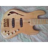 Bajo Doh Jazz Bass Custom Hollow Body 5 Hb5 Luthier
