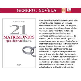 Libro 21 Matrimonios Que Hicieron Historia Pdf