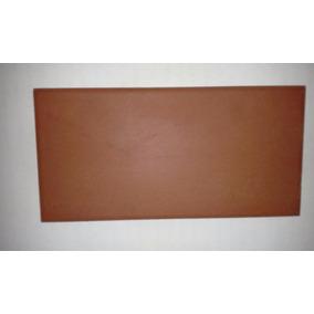 Ceramica 8 X 16 Alberdi Rojo Liso Por Metro Cuadrado