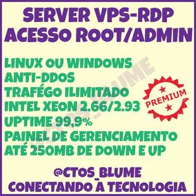 Vps Rdp Intel 2.9ghz + 1gb Ram + 100gb Hd + Windows Ou Linux