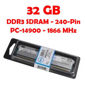 Memoria Dell Snpjggrtc/32g 32 Gb Ddr3 Pc14900 /1866 Mhz