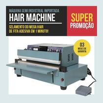 Mega Hair De Fita Adesiva Maquina Semi Industrial+ Dvd Curso