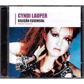 Cd Cyndi Lauper Seleção Essencial Novo Lacrado Frete Gratis