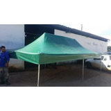 Tenda Sanfonada 3x4.5 Em Lona Pvc Frete Gratis Mg, Rj E Sp