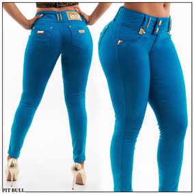 Calça Collor Pit Bull Jeans Levanta O Bumbum Bojo Removivel!