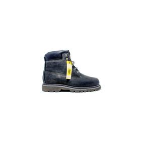 Exclusivesshoes, Caterpillar Borcego Cuero Negro.