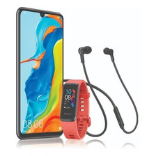 Huawei P30 Lite Azul + Band 4 + Freelace