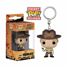 Chaveiro Pop Funko Rick Grimes Keychain The Walking Dead