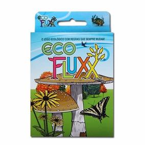 Eco Fluxx - O Jogo Ecológico Com Regras Que Sempre Mudam