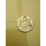 Moneda Antigua De 25 Centavos Balanza 1950