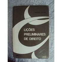 Lições Preliminares De Direito - Miguel Reale Frete Grátis