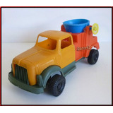 Dante42 Juguete Antiguo Plastico Camion Volquete 70s