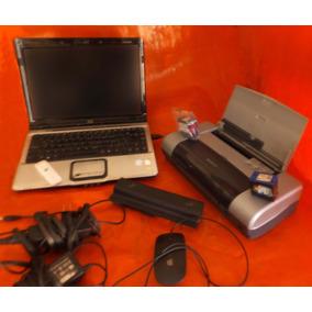 Laptop Hp Pavilion Dv2000 Con Dd Ssd 128 Con Impresora Hp