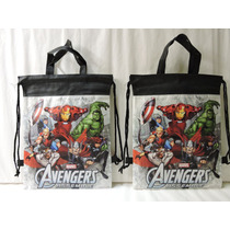 Avengers Dulceros Bolsas Fiestas 10 Recuerdos Regalos Bolo