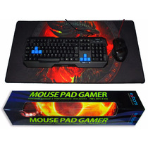 Mouse Pad Gamer Extra Grande 70x35x3mm Barato P/ Pc Notebook