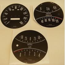 Aero Willys 63/67 Instrumentos Do Painel