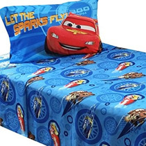 Juguete 3pc Disney Cars Doble Hoja De Cama Set Rayo Mcqueen