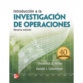 Introducción A La Investigación De Operaciones-hillier- Pdf