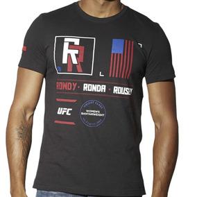 Playera Atletica Ufc Rousey Nickname Hombre Reebok Ap6681