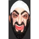 Máscara De Terrorista Bin Laden Elástico Fantasia Carnaval