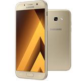 Galaxy A5 2017 4g Pant.5.2 32+3ram 16+16mpx Nuevo Dorado