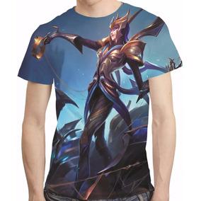 Camisa League Of Legends Camiseta Elise Vitoriosa