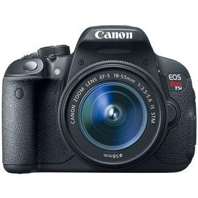 Camera Canon Eos Rebel T5i Lente 18 55mm Nova Na Caixa C/nfe