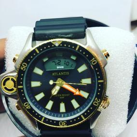 603fa398657 Relogio De Ouro Puro - Relógio Atlantis Masculino no Mercado Livre ...