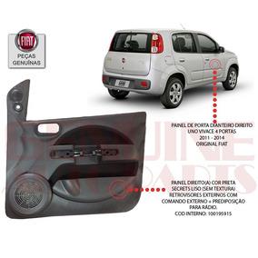 Forro Porta Fiat Novo Uno Vivace 4 Pta - Dianteira Direito