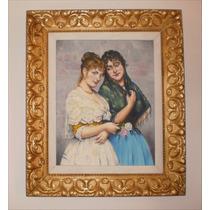 Pinturas Al Oleo Sobre Lienzo 40cm X 50cm