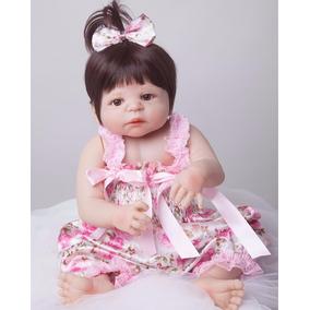 Bebê Reborn Silicone Barato Menina Victória Frete Grátis 002