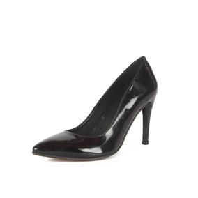 Zapatos Mujer Stivali Chiara Charol Negro