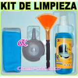 Kit De Limpieza Multi Uso P/ Laptop, Monitores Y Tv Lcd, Cel