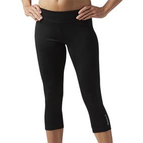 Leggins Malla Deportiva Workout Ready Mujer Reebok Bk4401