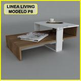 Mesa Centro Moderna Juego Mueble Sala Comedor Sofa Recibo P8